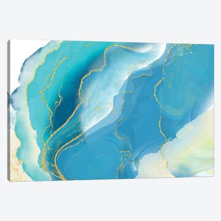 Luminous Sea Canvas Print #DNA28} by Delores Naskrent Canvas Art Print