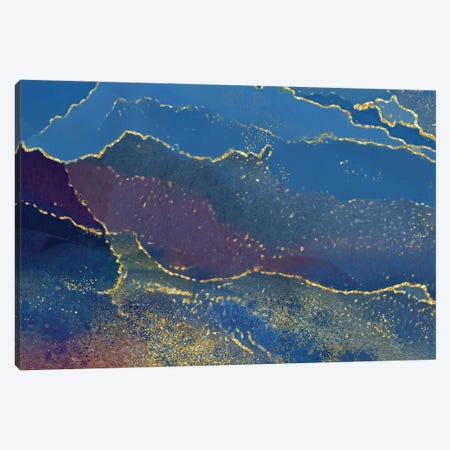 In The Navy Canvas Print #DNA31} by Delores Naskrent Canvas Wall Art