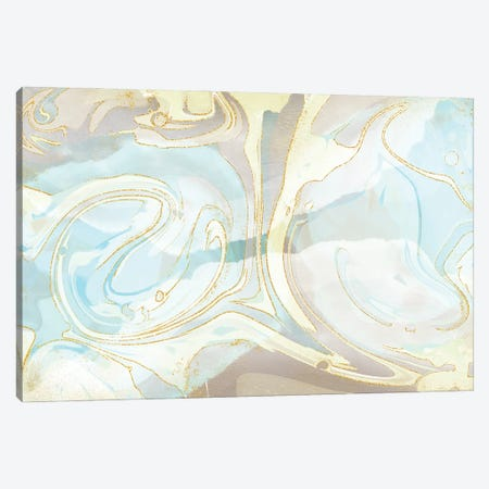 Lake Murray Blue Canvas Print #DNA33} by Delores Naskrent Canvas Wall Art