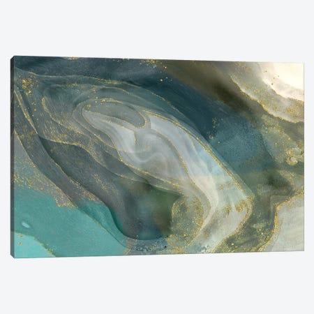 Tarnished Silver Canvas Print #DNA38} by Delores Naskrent Canvas Artwork