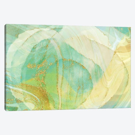 Foamy Lime Canvas Print #DNA39} by Delores Naskrent Canvas Art