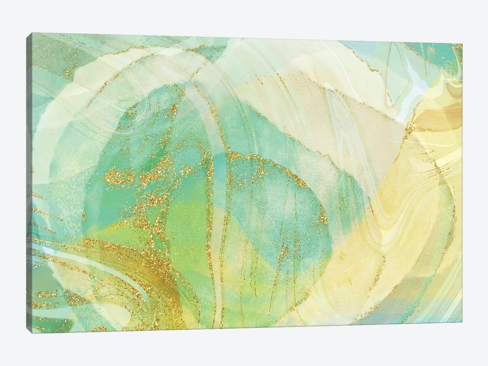 Foamy Lime by Delores Naskrent 1-piece Canvas Art Print