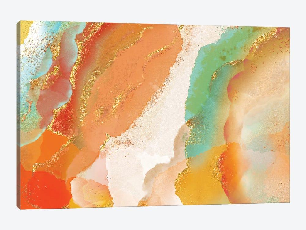 Copperhead Row by Delores Naskrent 1-piece Canvas Print