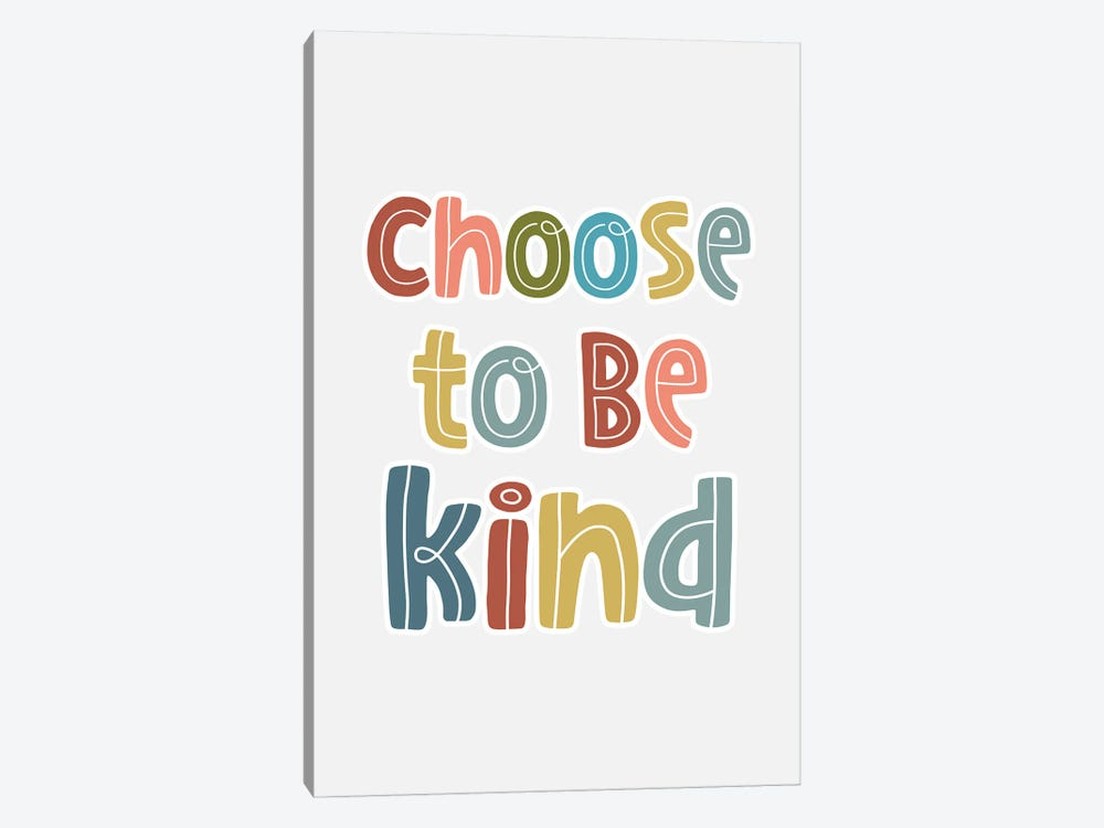 Be Kind by Delores Naskrent 1-piece Canvas Wall Art