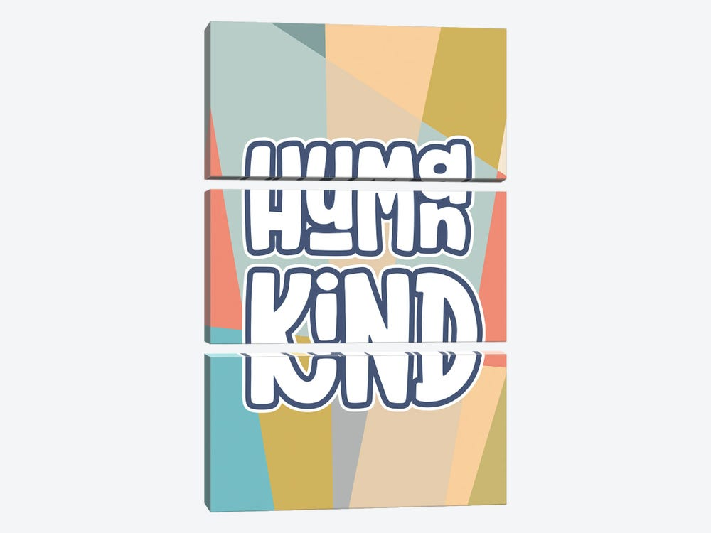 Human Kind 3-piece Canvas Art