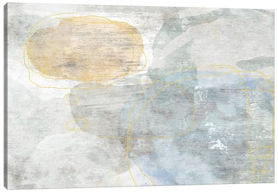 Flaxen Prairie Canvas Art Print
