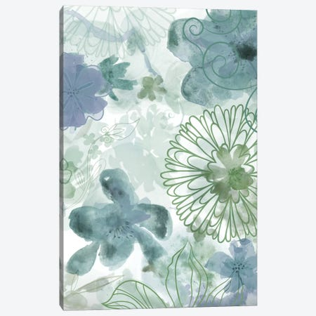 Bouquet Of Dreams II Canvas Print #DNA8} by Delores Naskrent Art Print