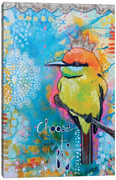 Choose To Fly Canvas Art Print
