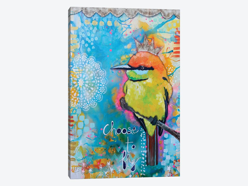 Choose To Fly by Denise Braun 1-piece Art Print