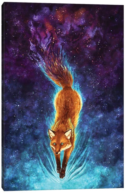 Foxtail Nebula Canvas Art Print