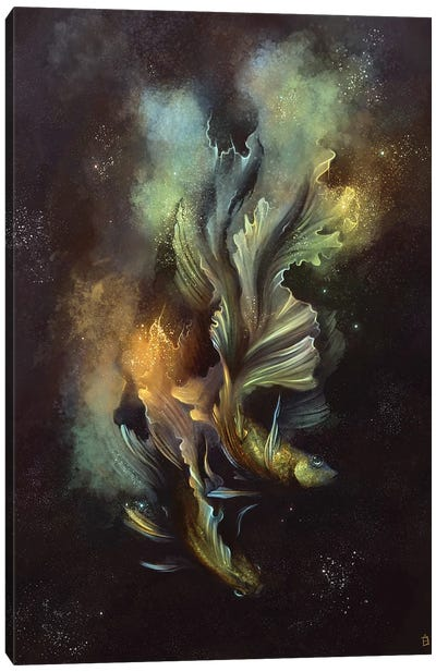 Pisces Nebula Canvas Art Print