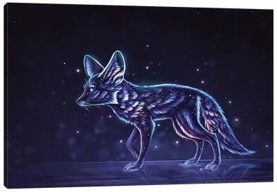 Stardust Fennec Fox Canvas Art Print