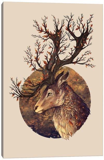 Autumn Embers Canvas Art Print