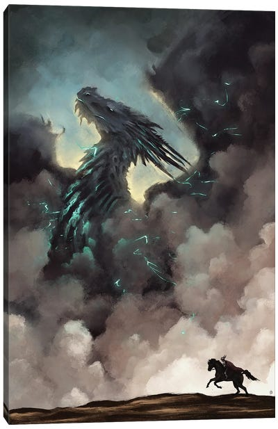 Storm Chaser Canvas Art Print