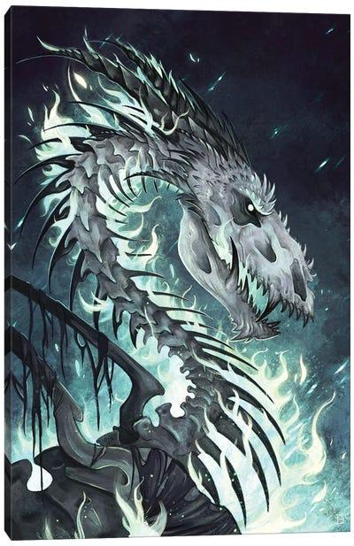 Dracolich Canvas Art Print