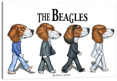 The Beagles Canvas Art Print