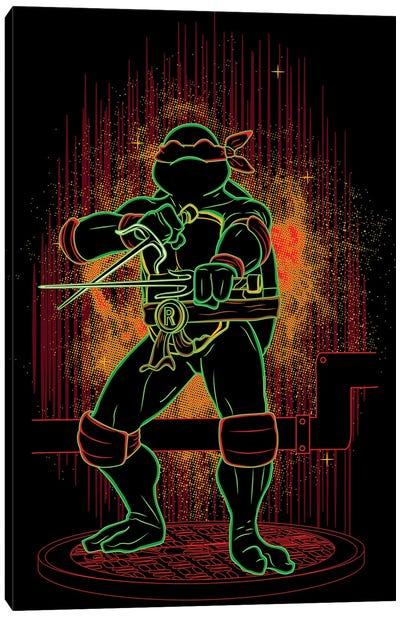 Shadow Of The Red Ninja Canvas Art Print