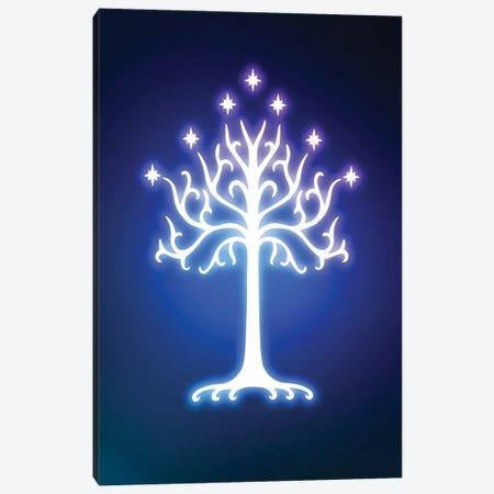 Neon Tree Canvas Print #DNI103} by Donnie Art Canvas Print