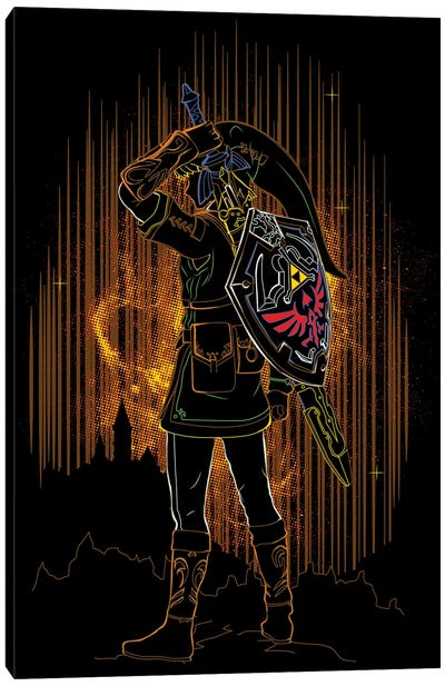 Shadow Of The Hero Of Time Canvas Art Print