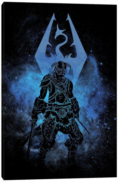 Dragon Hunter Art Canvas Art Print