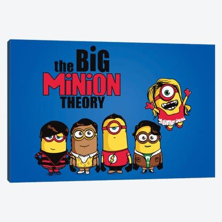 The Big Minion Theory Canvas Print #DNI110} by Donnie Art Canvas Artwork