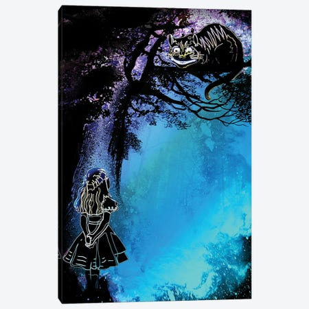 Soul Of The Wonderland Canvas Print #DNI117} by Donnie Art Canvas Print