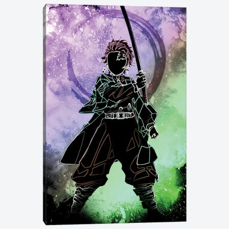 Soul Of The Demon Hunter Canvas Print #DNI127} by Donnie Art Canvas Art