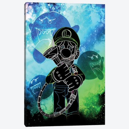 Soul Of The Ghost Hunter Canvas Print #DNI135} by Donnie Art Canvas Print