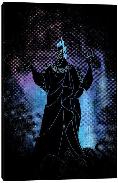 Evil God Art Canvas Art Print