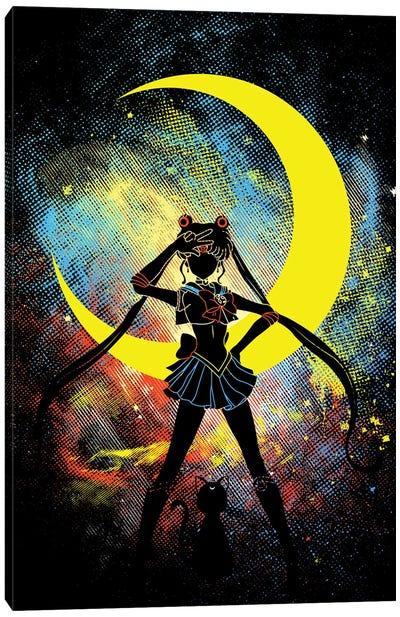Moon Art Canvas Art Print