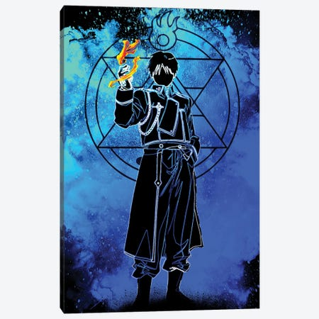 Soul Of The Flame Alchemist Canvas Print #DNI166} by Donnie Art Canvas Wall Art