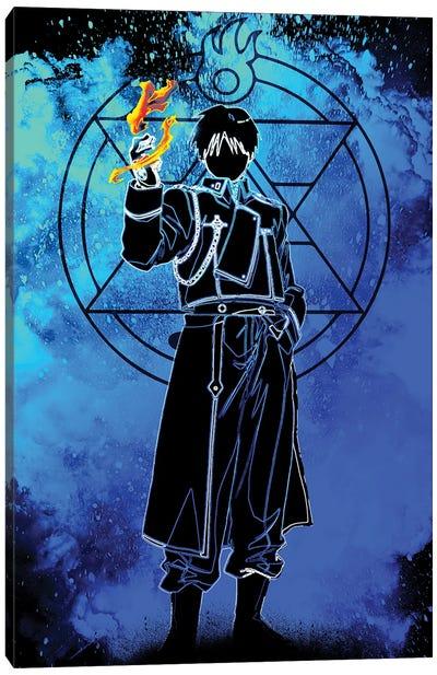 Soul Of The Flame Alchemist Canvas Art Print