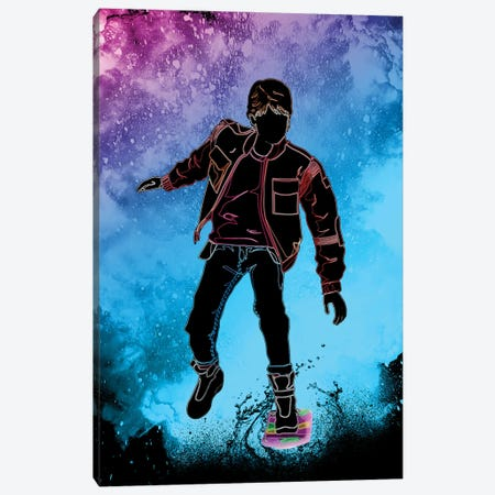 Soul Of The Hoverboarder Canvas Print #DNI173} by Donnie Art Canvas Art