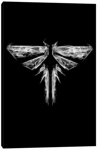 Smoky Fireflies Canvas Art Print