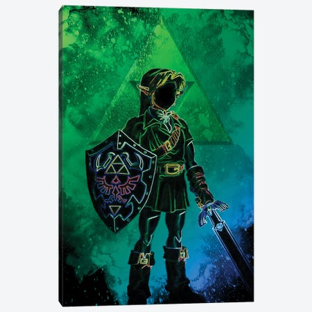 Soul Of The Hero Of Time Canvas Print #DNI188} by Donnie Art Art Print