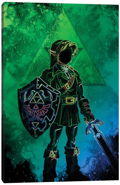 Soul Of The Hero Of Time Canvas Art Print