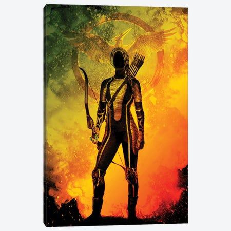 Soul Of The Mockingjay Canvas Print #DNI190} by Donnie Art Canvas Art