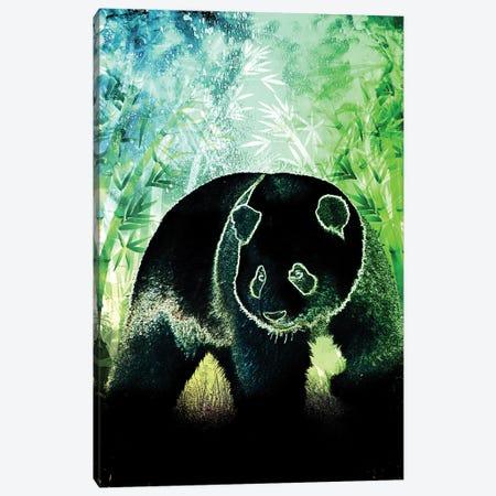 Soul Of The Panda Canvas Print #DNI42} by Donnie Art Canvas Art Print