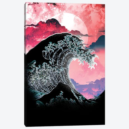 Soul Of The Classic Great Wave Canvas Print #DNI46} by Donnie Art Canvas Wall Art