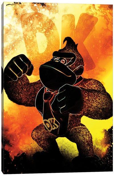 Soul Of The Gorilla Canvas Art Print