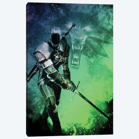 Soul Of The Sorcerer Canvas Print #DNI70} by Donnie Art Canvas Wall Art
