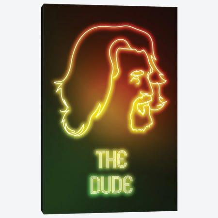 Neon Dude Canvas Print #DNI72} by Donnie Art Canvas Artwork