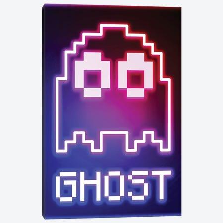 Neon Ghost Canvas Print #DNI81} by Donnie Art Canvas Print