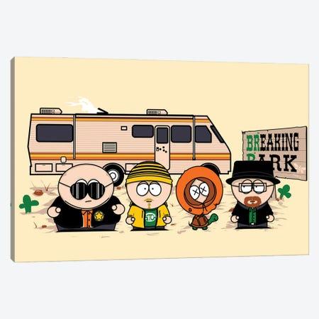 Breaking Park Canvas Print #DNI82} by Donnie Art Art Print