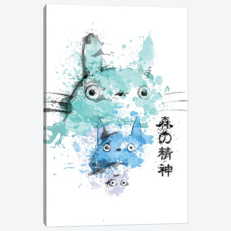 Spirits In Watercolors Canvas Print #DNI93} by Donnie Art Canvas Wall Art