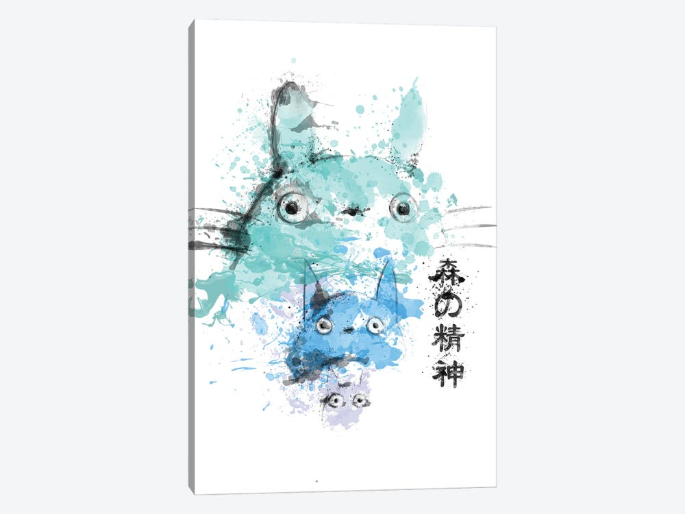 Spirits In Watercolors by Donnie Art 1-piece Canvas Art