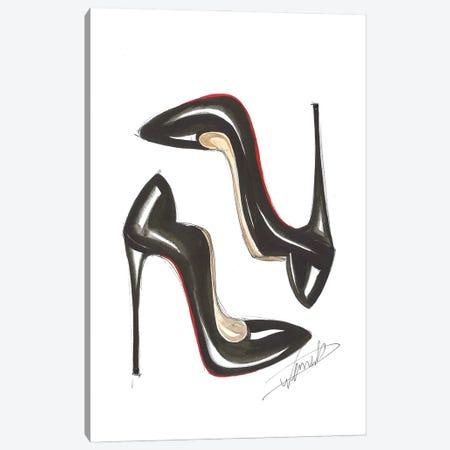 Classic Heels Canvas Print #DNK11} by Dorina Nemeskeri Canvas Artwork
