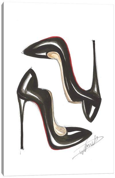 Classic Heels Canvas Art Print