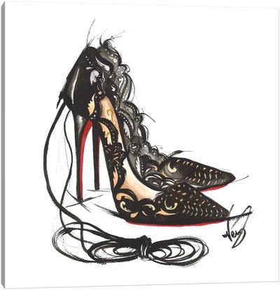 Luxury High Heels Canvas Art Print