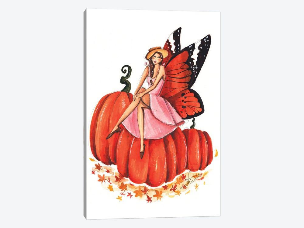 Pumpkin Fairy by Dorina Nemeskeri 1-piece Art Print